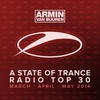 Cover of the album A State of Trance Radio Top 30 - March / April / May 2014