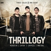 Couverture de l'album Thrillogy 2012 (Mixed By Zatox, Crypsis & Mad Dog)