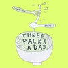 Couverture de l'album Three Packs a Day - Single