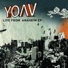 Couverture de l'album Live from Anaheim - EP