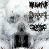 Cover of the album Holokaust Zniewolonych Mas / Diabolus Perfectus / Raise the Blasphemer