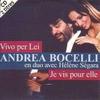 Cover of the track Vivo per lei