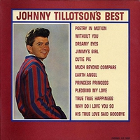 Cover of the track Johnny Tillotson's Best