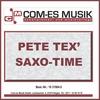 Cover of the album Pete Tex' Saxo-Time