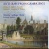 Couverture de l'album Anthems from Cambridge