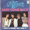 Cover of the track Baby Come Back [1977]