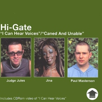 Couverture du titre I Can Hear Voices/Caned & Unable - EP