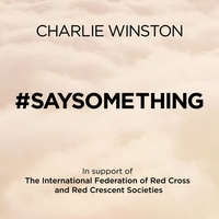 Cover of the track #saysomething - Single