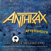Couverture du titre Aftershock: The Island Years 1985-1990