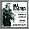 Cover of the album Ma Rainey, Vol. 1 (1923-1924)