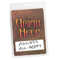 Couverture du titre Access All Areas - Uriah Heep Live (Audio Version)