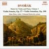 Couverture de l'album Dvorák: Violin Sonata/Violin Sonatina, Vol.1