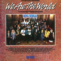 Cover of the track We Are the World - Single