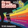 Couverture de l'album Gran ballo, Vol. 5 (18 Hit riempipista)