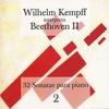 Cover of the album Wilhelm Kempff Interpreta Beethoven Vol.II - 32 Sonatas para Piano