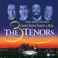 Couverture du titre The Three Tenors in Concert, 1994