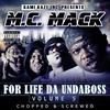 Couverture de l'album For Life da Undaboss: Volume 5 (Chopped & Screwed)