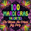 Cover of the album 100 Mardi Gras Favorites - The Ultimate New Orleans Jazz Party