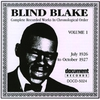 Cover of the album Blind Blake Vol. 1 (1926 - 1927)