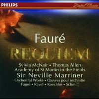 Couverture du titre Fauré: Requiem, Ravel: Pavane & Others