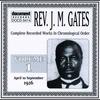 Cover of the album Rev. J.M Gates Vol. 1 (April - Sept. 1926)
