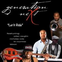 Couverture du titre Let It Ride (feat. Nicholas Cole, Lebron, Julian Vaughn & Lin Rountree) - Single