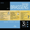 Cover of the album Georges Brassens 1, 2 & 3