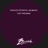 Couverture de l'album Peoples Potential Unlimited Test Pressing