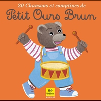 Cover of the track 20 chansons et comptines de Petit Ours Brun, Vol. 1