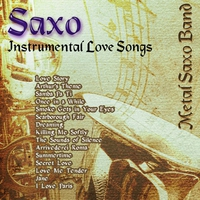Cover of the track Saxo - Instrumental Love Songs