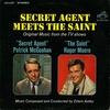 """Couverture de l'album Secret Agent Meets the Saint (Original Music from the TV Shows """"Secret Agent"""" / """"Secret Saint"""""""