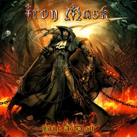 Cover of the track Black as Death