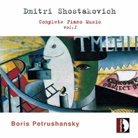 Couverture du titre Shostakovich: Complete Piano Music, Vol. 1