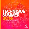 Couverture de l'album Technique Summer 2016 (100% Drum & Bass)