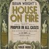 Couverture de l'album House on Fire