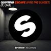 Couverture de l'album Escape (Into the Sunset) [feat. Una] [Extended Mix] - Single
