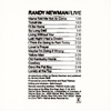 Cover of the album Randy Newman Live