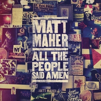 Cover of the track All the People Said Amen (Live)