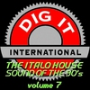 Cover of the album The Italo House Sound of the 90's, Vol. 7 (Best of Dig-it International)