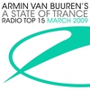 Couverture de l'album Armin Van Buuren's a State of Trance - Radio Top 15 - March 2009