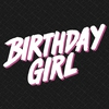 Couverture de l'album Birthday Girl - Single