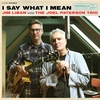 Cover of the album I say what I mean