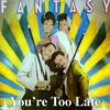 Cover of the album You're Too Late