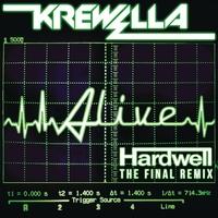 Couverture du titre Alive (Hardwell Remix) - Single
