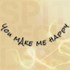 Cover of the album You Make Me Happy - Single