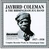 Couverture de l'album Jaybird Coleman & the Birmingham Jug Band (1927-1930)