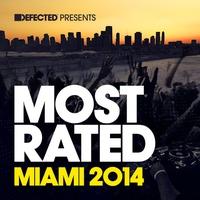 Couverture du titre Defected Presents Most Rated Miami 2014