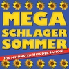 Couverture de l'album Mega Schlager Sommer - Die schönsten Hits der Saison