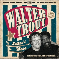 Couverture du titre Luther's Blues: A Tribute to Luther Allison