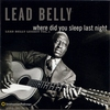 Cover of the album Where Did You Sleep Last Night: Lead Belly Legacy, Vol. 1